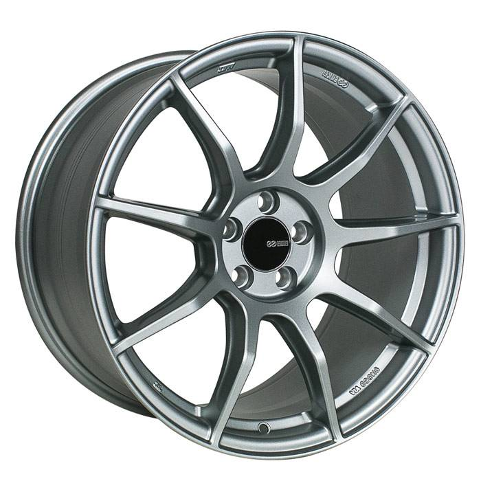 Enkei - Enkei Tuning Series Wheel TS9 18x8 5x108 +45mm - Platinum Gray