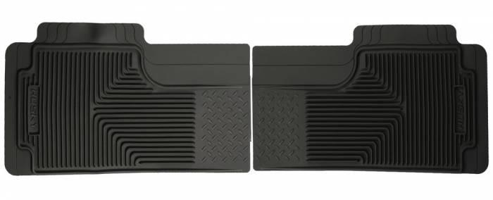 Husky Liners - 2003 Honda Element Husky Liners Heavy Duty Rear Floor Mats - Black