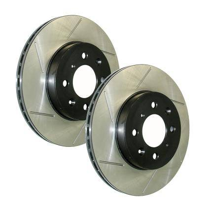 StopTech - 2013-2016 Hyundai Veloster Turbo StopTech Slotted Sport Brake Rotors