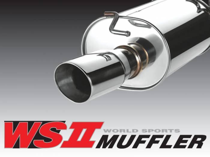 A'PEXi - 2001-2005 Honda Civic EX A'PEXi World Sport 2 Exhaust