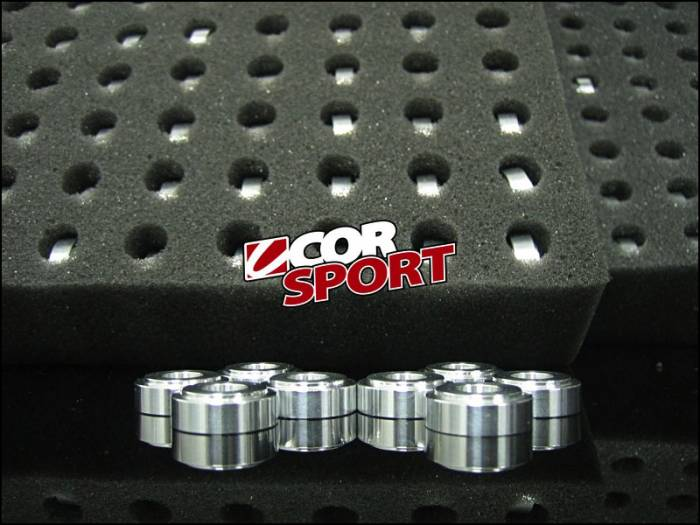 CorSport - 2002+AC0-2005 Honda Civic Si CorSport Aluminum Shifter Base Bushings