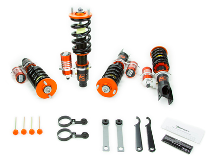 K Sport - 1989-1994 Nissan 240SX Ksport Circuit Pro 3 Way Adjustable Damper System