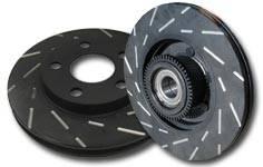 EBC Brakes - 2006-2011 Honda Civic SI EBC USR Slotted Rear Rotors
