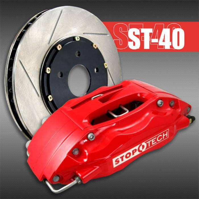 StopTech - 2004-2005 Honda Civic Si StopTech Big Brake Kit (Front)