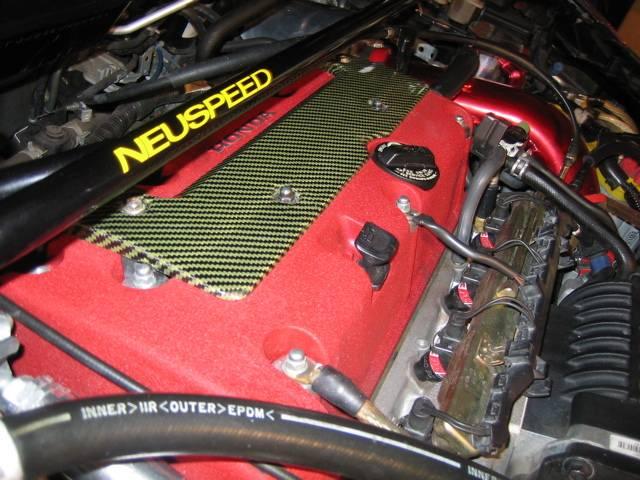 CorSport - CorSport K20 Engine Kevlar Spark Plug Cover