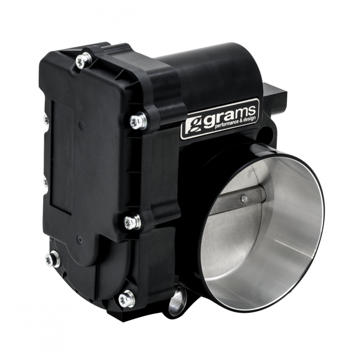 Grams Performance - 2006-2008 Acura TSX Grams Performance 72mm Billet Throttle Body (Blk Series) Cars w/ Drive by Wire