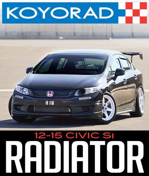 Koyo Aluminum Radiator For Honda Civic SI 12-15