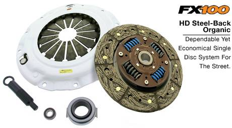 Clutch Masters - 2002-2005 Honda Civic Si ClutchMasters FX100 HD Organic Clutch Stage 1