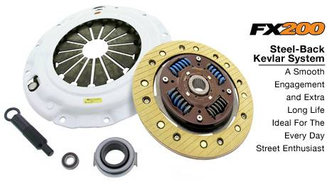 Clutch Masters - 2002-2005 Honda Civic Si ClutchMasters FX200 Kevlar Clutch Stage 2