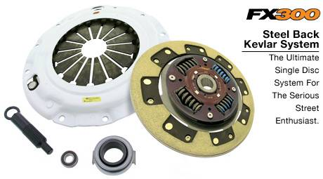 Clutch Masters - 2002-2005 Honda Civic Si ClutchMasters FX300 Kevlar Clutch Stage 3