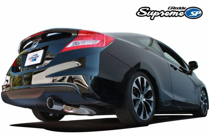 Greddy - 2012-2015 Honda Civic Si Greddy Supreme SP Cat-Back Exhaust