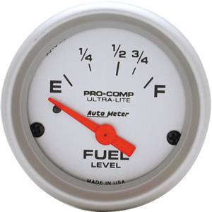 "Auto Meter - Auto Meter Ultra-Lite 2 1/16"" Short Sweep Electric Fuel Level - 16?s Empty / 158?s Ful"