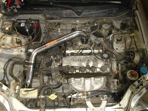 Fujita - 1996-2000 Honda Civic CX/DX/LX Fujita Cold Air Intake
