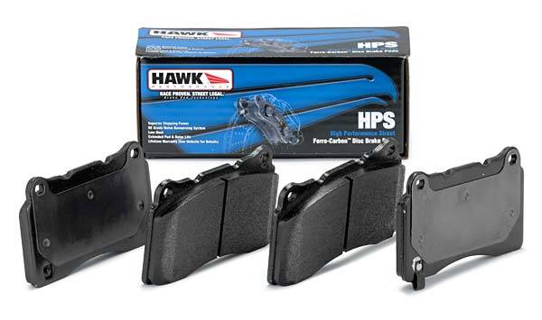 Hawk - 2006-2007 Mitsubishi Evolution IX Hawk HPS Front Brake Pads