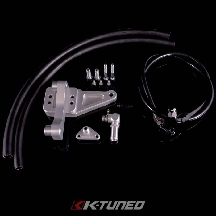 K-Tuned - 2006-2011 Honda Civic Si Fuel Line Kit, Blue