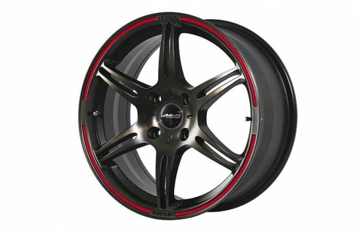 """Buddy Club - Buddy Club F91 15"""" Wheel Color Decal set, Red"""