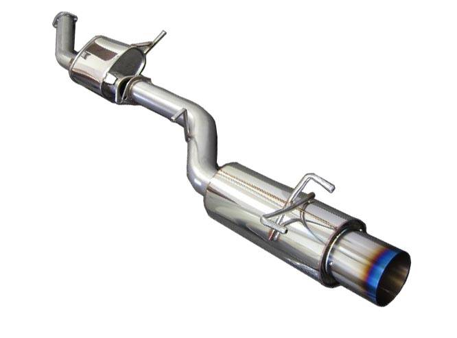 Greddy - 2001-2005 Honda Civic Greddy Ti-C Exhaust System