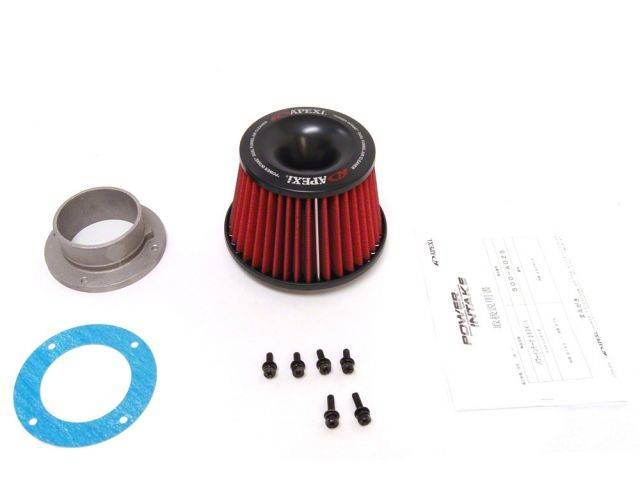 A'PEXi - A'PEXi Power Intake Universal Filter & 80mm Flange