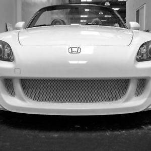 Grillcraft - 2000-2003 Honda S2000 Grillcraft MX Series Lower Grille (3pc kit) (Silver)