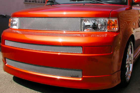 Grillcraft - 2003-2007 Scion xB Grillcraft MX Series Lower & Mid Grille