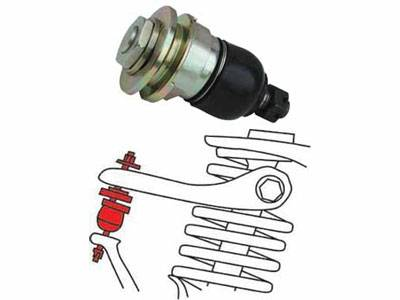 SPC Performance - 2003-2007 Honda Accord SPC Front Adjustable Camber Balljoints