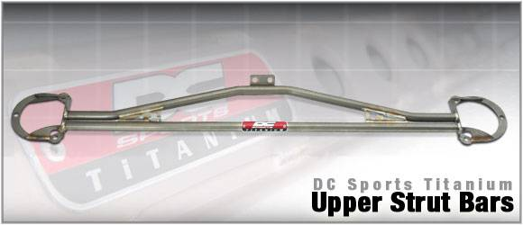 DC Sports - 2004-2007 Subaru STI DC Sports Titanium Upper Strut Bar