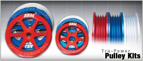 AEM - 2004-2007 Subaru STI AEM Power Pulley