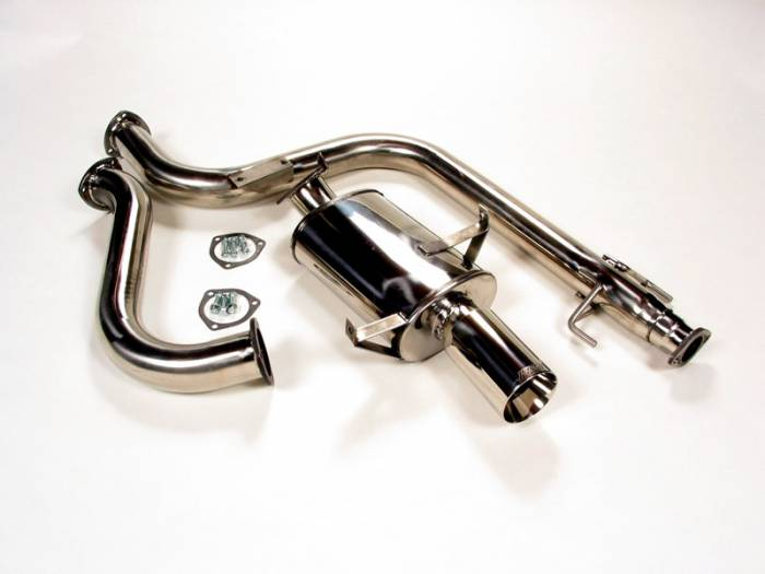 """Thermal - 1989-1991 Mitsubishi Eclipse FWD 3"""" Thermal CL Exhaust System"""