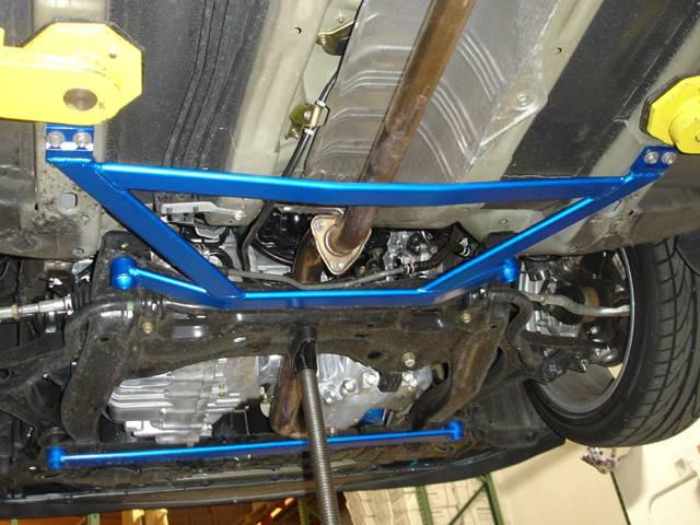 Megan Racing - 2006-2011 Honda Civic Megan Racing Lower H Brace