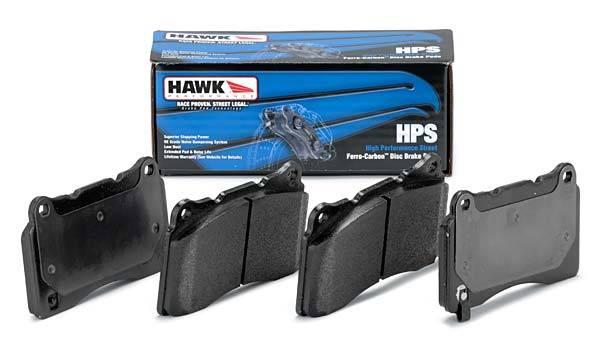 Hawk - 2004-2005 Honda Civic Si Hawk HPS Rear Brake Pads