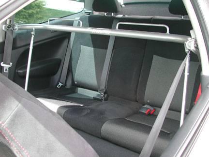 CorSport - 2001-2005 Honda Civic CorSport Harness Bar