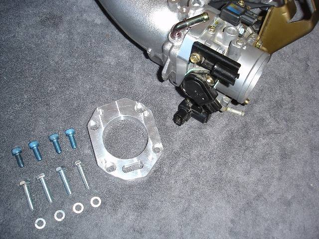 Karcepts - Karcepts -RBC- Intake Manifold to Throttle Body Adapter-