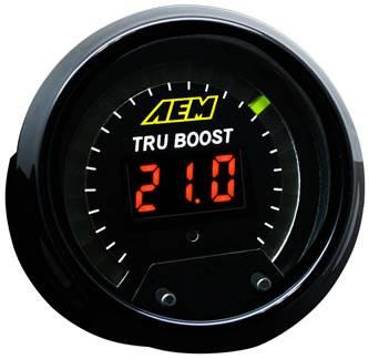 AEM - AEM TRU-BOOST - Boost Controller Gauge
