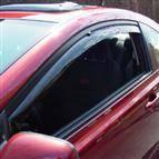 WeatherTech - 2006-2011 Honda Civic Coupe WeatherTech Side Window Deflectors (Dark)