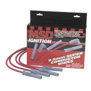 MSD - 96-97 Civic 1.6L MSD Super Conductor Spark Plug Wire Set