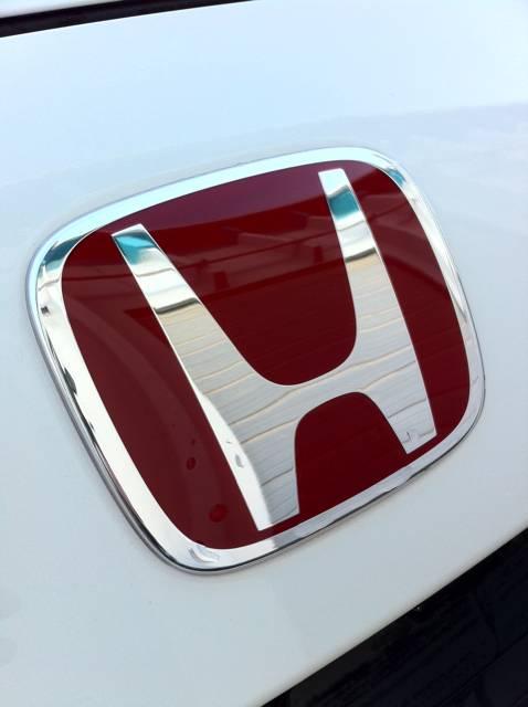 JDM Honda Emblems CorSport - Red acura emblem