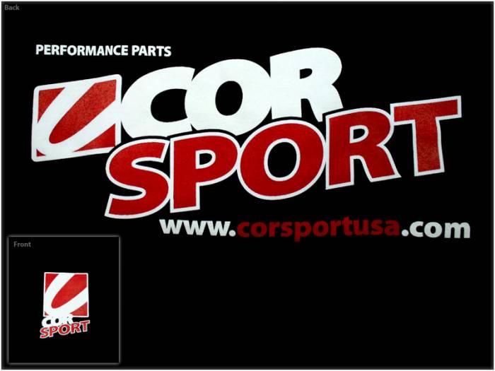 CorSport - CorSport, Inc. New Logo Hooded Sweatshirt