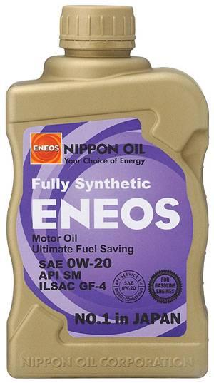Eneos - Eneos 0W20 Synthetic Motor Oil (CASE)