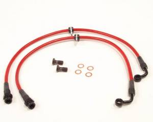 Agency Power - 2002-2006 Acura RSX Agency Power Front Steel Braided Brake Lines - Image 1