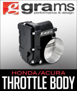 Grams Performance - 2006-2008 Acura TSX Grams Performance 72mm Billet Throttle Body (Blk Series) Cars w/ Drive by Wire - Image 2