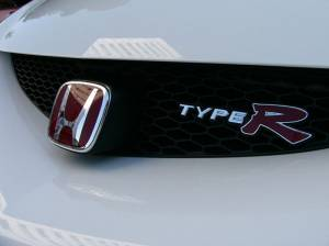 Honda (JDM) - 2005-2006 Honda Integra Type-R JDM Red H Badge (Front) - Image 2